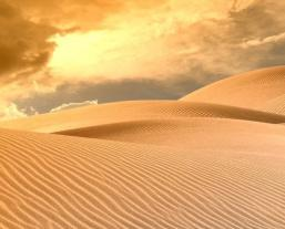сухая пустыня